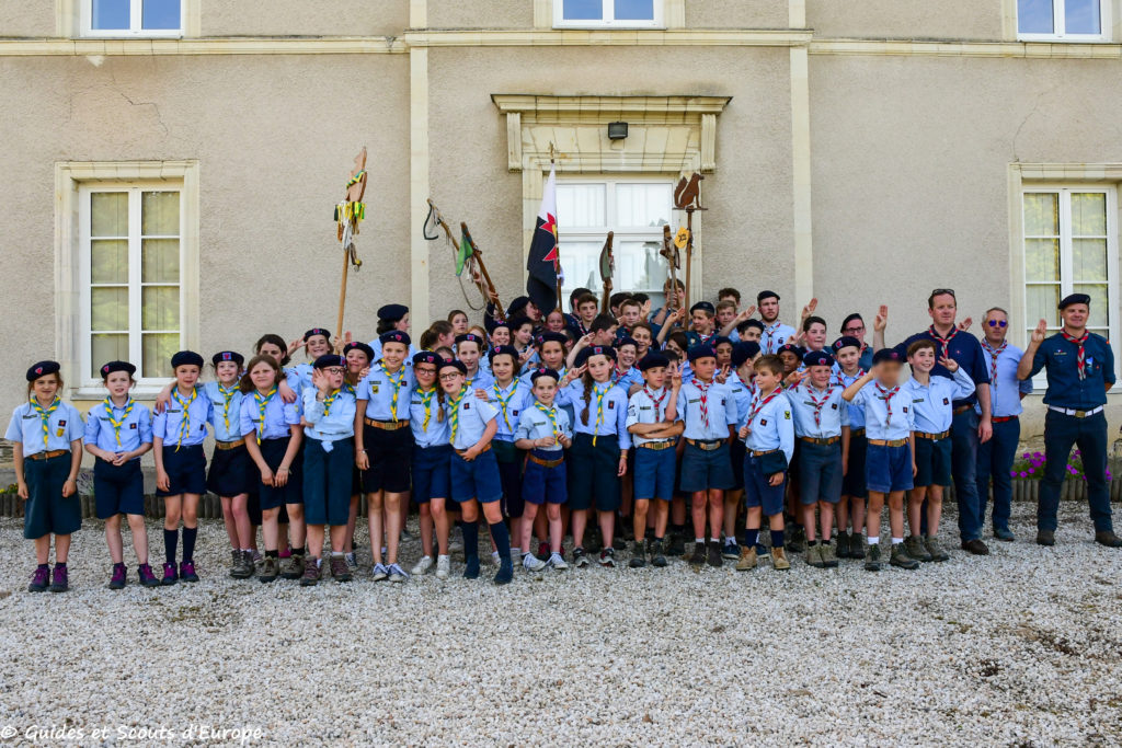 Photo des groupes 1er et 2ème Nort-sur-Erdre