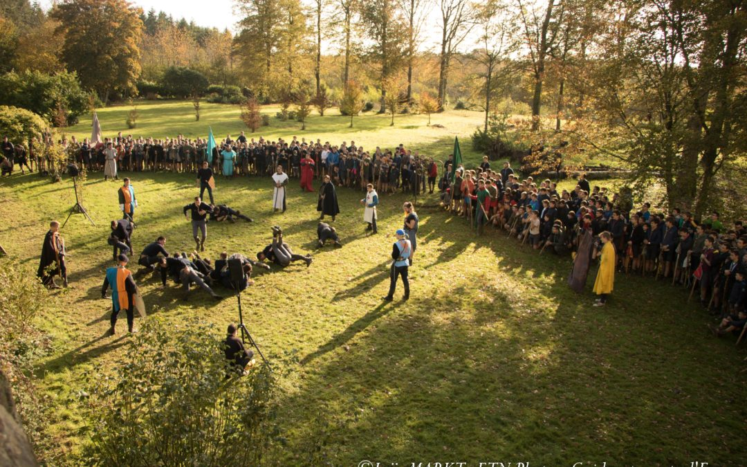 500 scouts à Ploërmel pour le Grand Jeu national 2020